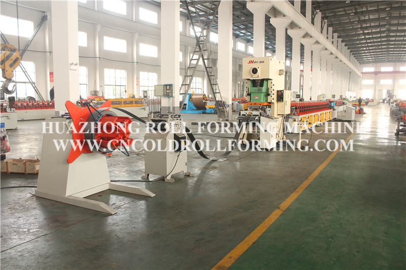 CUSTOMIZED C CHANNEL ROLL FORMING MACHINE