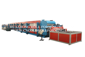 DECORATIVE PANEL ROLL FORMING MACHINE FOR OUTSIDE BUILDING