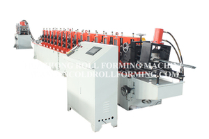Z TYPE PURLIN ROLL FORMING MACHINE