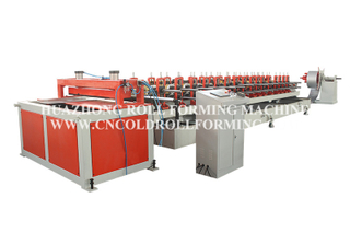 ROLLER SHUTTER BOX COLD ROLL FORMING MACHINE