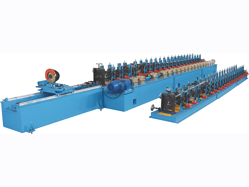 OCTAGON TUBE FORMING MACHINE