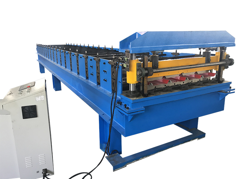 HUAZHONG ROOF PANEL ROLL FORMING MACHINE