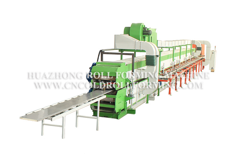 SECTIONAL GARAGE DOOR PRODUCTION LINE