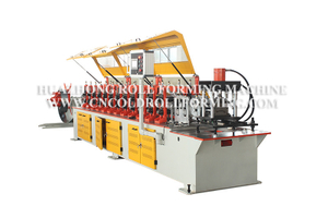 ROLLER SHUTTER BOTTOM ROLL FORMING MACHINE