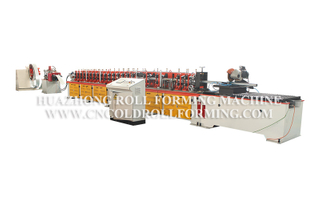 OCTAGONAL TUBE ROLL FORMING MACHINE (QUICK CHANGE SYSTEM)