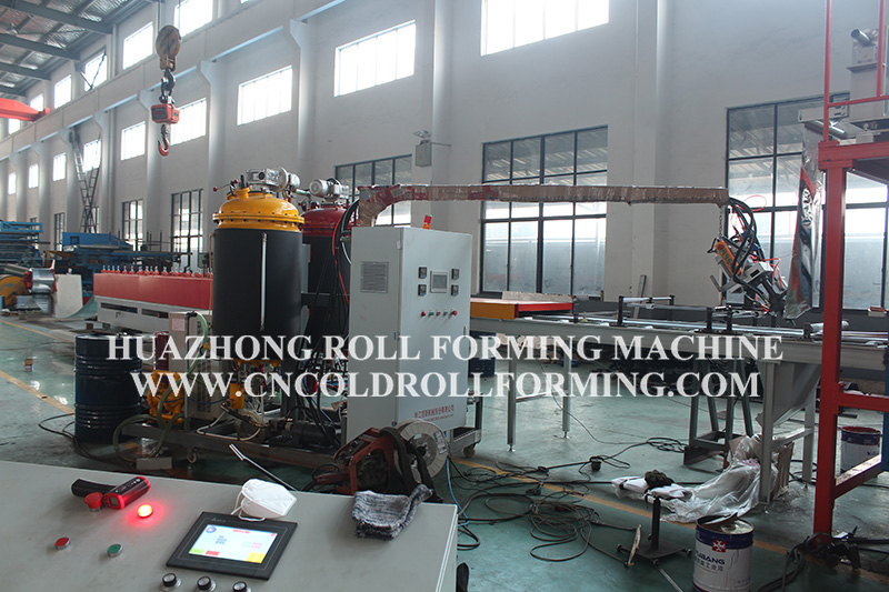 DECORATIVE PANEL PRODUCTION LINE FOR OUTSIDE BUILDING