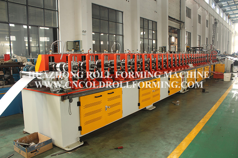 T PROFILE TUBE ROLL FORMING MACHINE