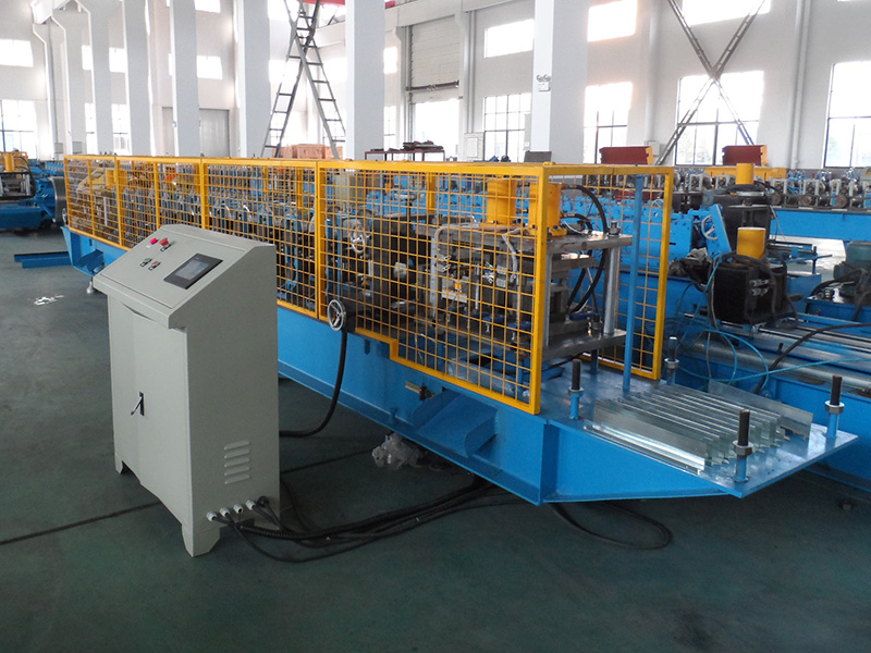 END CAPS ROLL FORMING MACHINE
